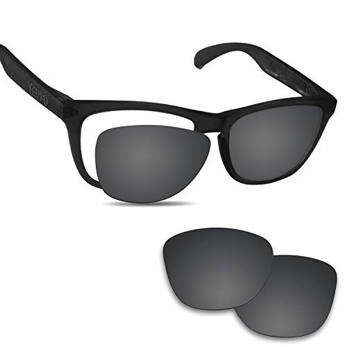 Fiskr 剥がれ防止 Oakley Frogskins交換用レンズ フロッグスキン 偏光レンズ