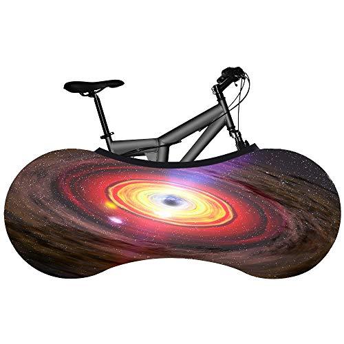Funda protectora para rueda de bicicleta con diseño de estrella, para bicicleta, antipolvo, elástica, para bicicleta de montaña, crema solar, funda de protección antipolvo, funda de protección contra el polvo, para bicicleta de montaña, 16 unidades