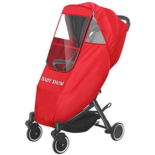 Luerme Regenschutz für Kinderwagenstühle Waterproof Babies Universalbezüge für Kinderwagen