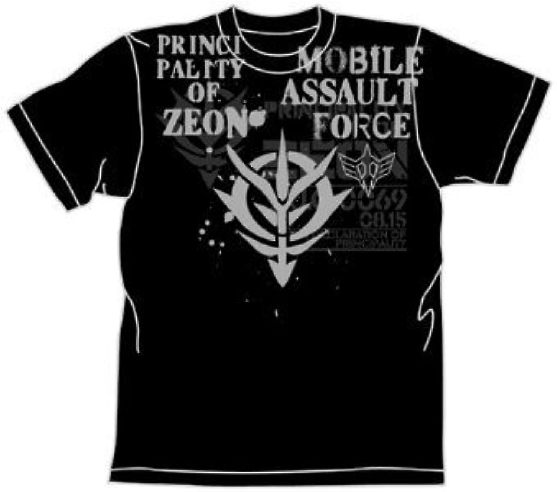 Gundam 0083 I`m Comeback Tshirt Black S (Anime Toy)