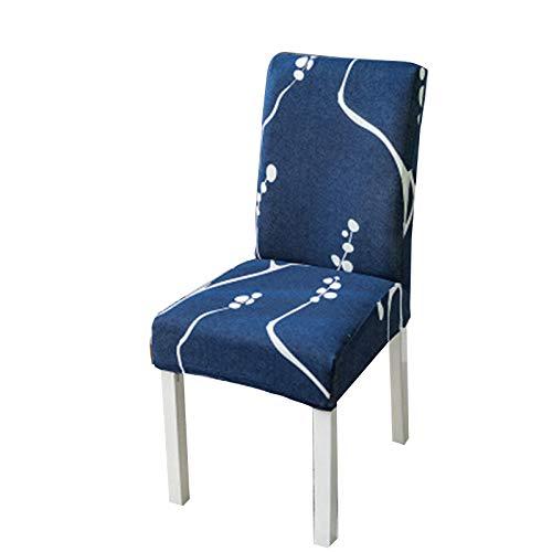 Valink - Funda elástica impresa para silla de casa, restaurante, sala de estar, hotel, cubierta para silla