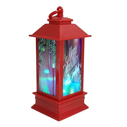 ESTILO y fácil de instalar Navidad luz de la secue Decoración de la atmósfera accesorios de Navidad brillante plástico de la noche casa de la luz fácil de montar y desmontar vacaciones lights3 colgant