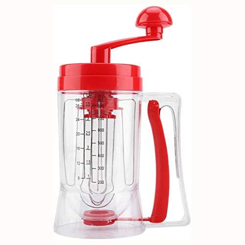 Hand-manuelle Pancake Cupcake Batter Mixer Dispenser Mixer Maschine Backen Werkzeug für Die Herstellung von Kuchen Waffeln Betters