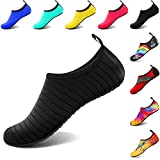 VIFUUR Water Sports Shoes Barefoot Quick-Dry Aqua Yoga Socks Slip-on for Men Women