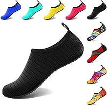 VIFUUR Water Sports Unisex Shoes Black - 9-10 W US / 7.5-8.5 M US (40-41)