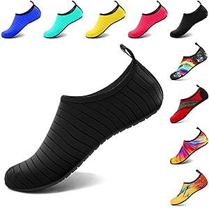 VIFUUR Water Sports Unisex Shoes Black - 11-12 W US / 9.5-10.5 M US (42-43)