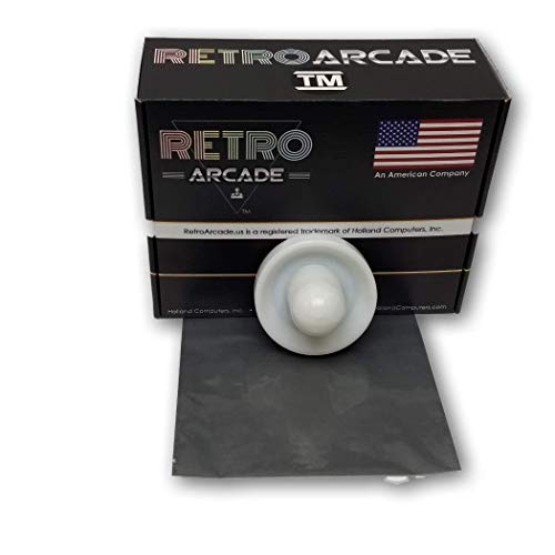 Learn More About RetroArcade.us ra-air-Hockey-Pusher Arcade Replacement air Hockey Table Pusher, 63m...