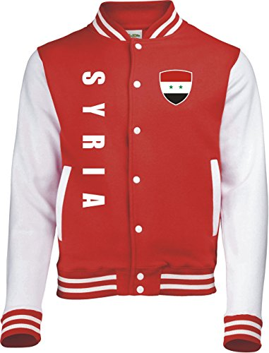 Aprom-Sports Syrien College Jacke -Trikot Look - 6 (M)