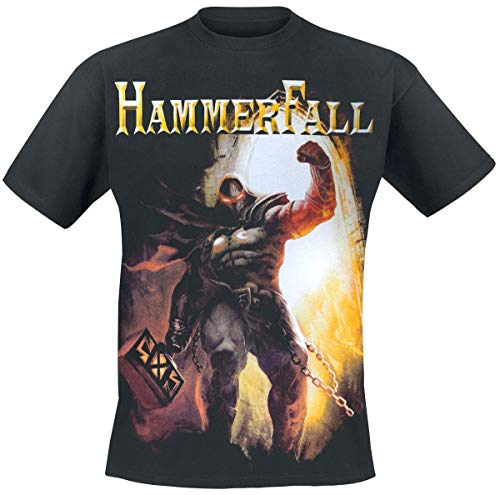 Hammer Fall Dethrone and Defy T-Shirt schwarz M