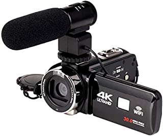 Phantio 4K WiFi Ultra HD 1080P 16X Zoom Digital Video Camera DV Camcorder with Lens and Microphone - Only Microphone