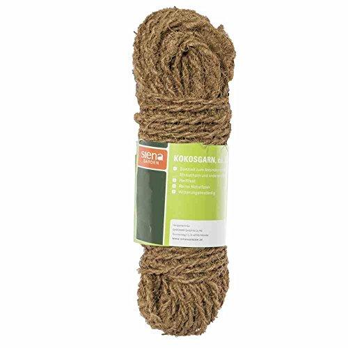 2 X Kokosgarn 100Meter Kokos Seil Baumseil Baumanbinder reißfest 100/% Kokosfaser