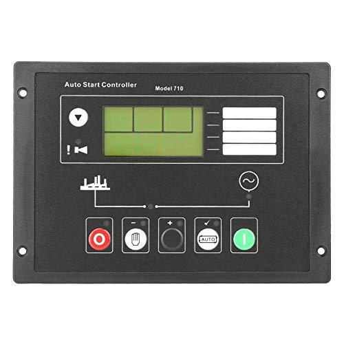 ZLININ Controlador del generador, Panel de Control de Inicio automático del generador DSE710 para Piezas de Repuesto de electrónica de mar Profundo