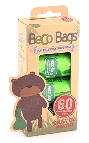 Sacs à Déjections Beco Poop Bags - 60 unités