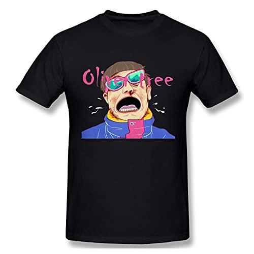 Camisetas Oliver-Tree Camiseta De AlgodóN De Manga Corta para Hombre, Deportiva Y De Ocio, S