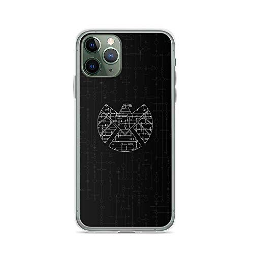 ZMEGGW iPhone 6 Plus/6s Plus Funda Pure Clear Soft-Flexible Anti-Rasguños Cajas del Teléfono Cover para Apple iPhone 6 Plus/6s Plus 5.5 Pulgadas (Agents of Shield 3D Logo Armor of God)