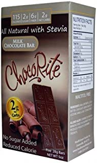 ChocoRite Sugar-Free Milk Chocolate Bar