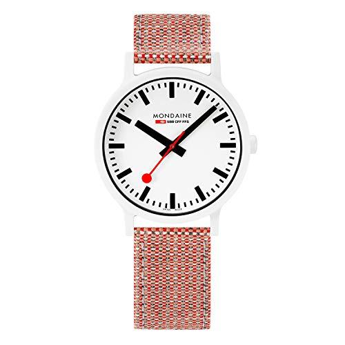 Mondaine Essence, Nachhaltige Uhr Für Damen und Herren, MS1.41110.LP, 41 MM.