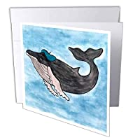 Whale Tail Gang–Herman Humpback–グリーティングカード Set of 6 Greeting Cards