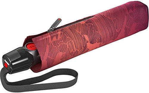 Knirps T.200 M Duomatic Taschenschirm/Regenschirm miracle fire