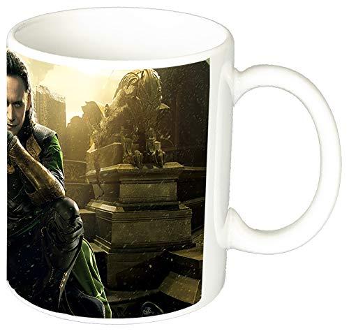 MasTazas Thor Ragnarok Loki Tom Hiddleston Tasse Mug