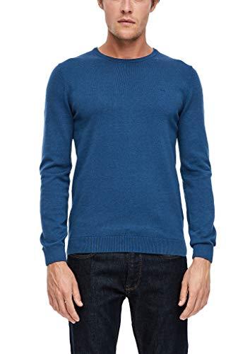 s.Oliver Herren 130.11.899.17.170.2040664 Pullover, Blau(57W2), L