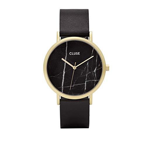 Cluse Damen Armbanduhr Analog Quarz Leder CL40004