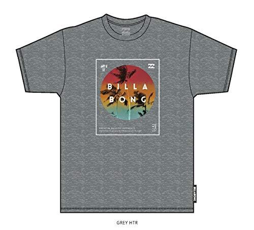 BILLABONG Divided SS Camiseta, Gris (Grey Heather 9), One Size (Tamaño del Fabricante: L) para Hombre