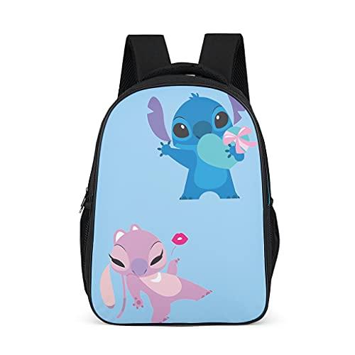 Stitch Love - Mochila para niños, duradera, para libros escolares, para niños y adultos, regalo para niños y niñas
