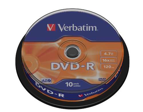Verbatim DVD-R AZO 4,7GB  - 16-f...