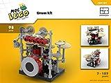 Drum Kit (Instruction Only): MOC LEGO (English Edition)