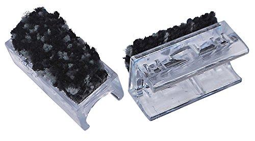 ScratchNoMore Möbelgleiter Chairfixx mit abnehmbarem Pin - 4 Stück - für Freischwinger mit Rundrohr Ø 25 mm - Gleiter für Schwingstühle