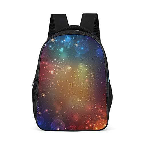 CATNEZA Abstract Galaxy Preschool Rugzak - Klassieke Basic Lichtgewicht Reizen Dagtas Rugzak achtergrond College Tas Student Bookbag Laptop voor 32x18x42Centimeters