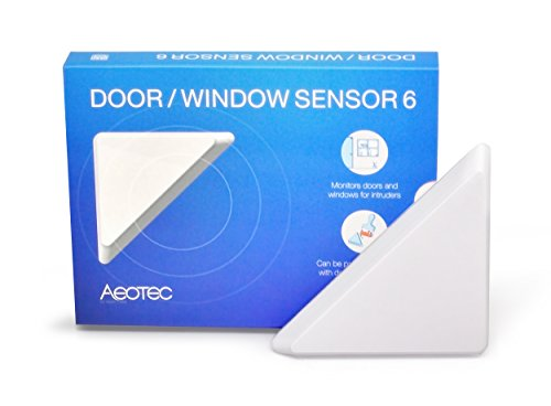Aeotec by Aeon Labs ZW112 ZW112-A Door/Window Sensor 6, Small, White