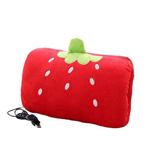 Scaldamani elettrico USB Po con Cute Cartoon Design, Cuscino della mano con cuscino in peluche