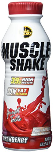 All Stars Muscle Shake, Erdbeer, 6er Pack (6 x 500 ml)