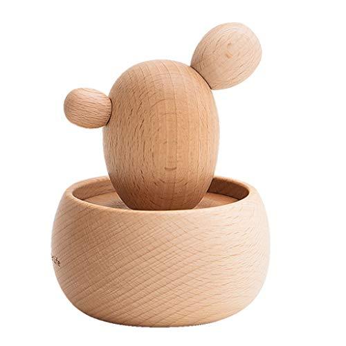 Cajas Musicales Caja de música Caja de Madera de bricolaje caja de música musical de madera creativa Crafts Cajas de música mejor regalo y decoraciones idea for cumpleaños de la Navidad regalo de cump