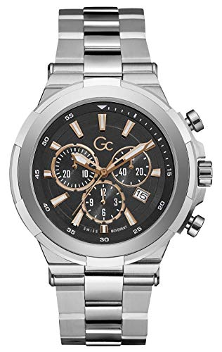 Gc Guess Collection Y23002G2MF Gc Structura Heren horloge 44 mm
