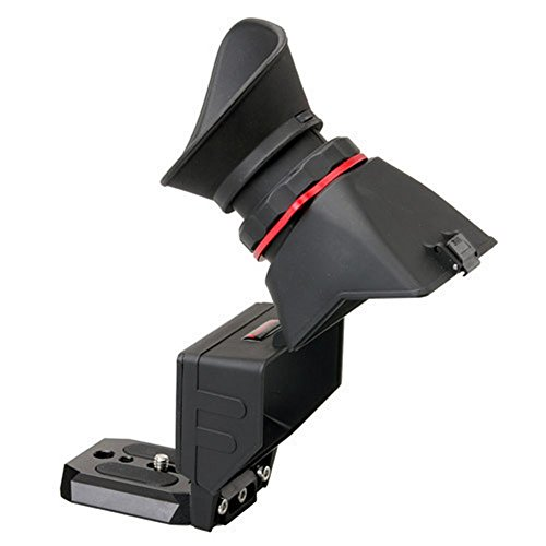KAMERAR QV-1 2.5x LCD Viewfinder Displaylupe Sucherlupe für CANON Nikon Sony Olympus DSLR Cameras
