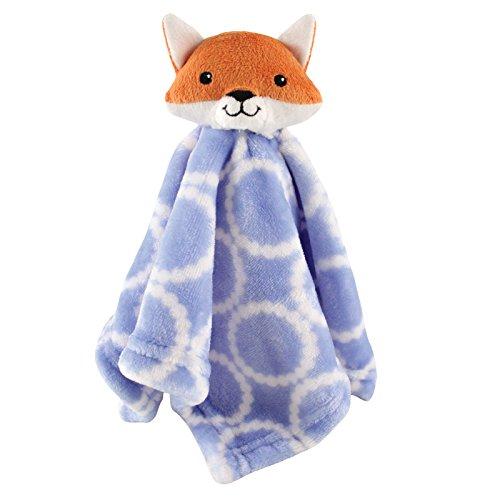 Hudson Baby Animal Friend Plushy Security Blanket, Pink Owl