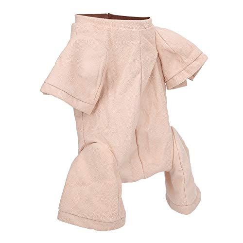 Cuerpo de tela de gamuza Reborns, Kit de muñecas renacidas vívidas realistas de simulación DIY de 22 pulgadas Conjunto de cuerpo de muñeca recién nacido hecho a mano para niños pequeños(22 pulgadas)