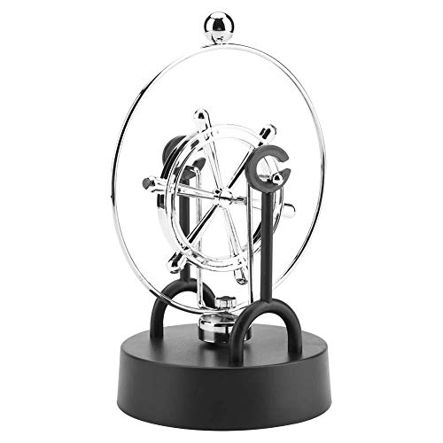 Perpetual Motion Modell Dekor, elektronische Shake Wiggle Gerät Perpetual Motion Swinging Dynamic Art Craft Dekoration(C203)