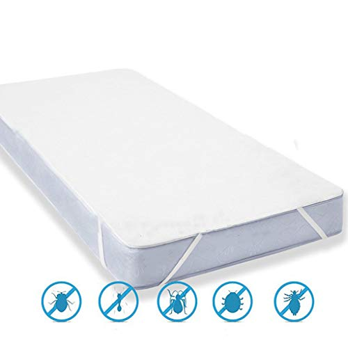 N-A Waterproof Mattress Protector King Size - Breathable, Soft To Touch, Hypoallergenic, Dust Mites Resistant,Bed Cover - Optimal Protection (180x200CM)