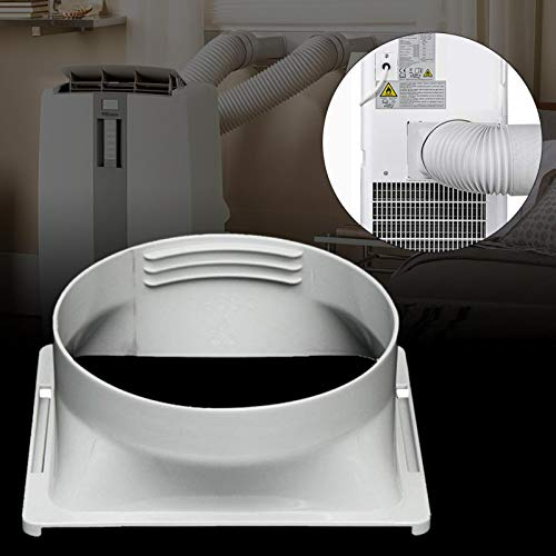 awhao Interfaccia Tubo di Scarico 15cm, interfaccia Quadrata ugello Piatto Tubo di Scarico per condizionatori Portatili Aria condizionata Mobile economical