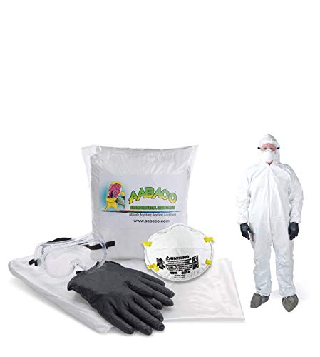 AABACO SAFETY PROTECTION KITS – Protection Kit For Emergency Response - Ready To Go - In Portable Bag (Extra Large)