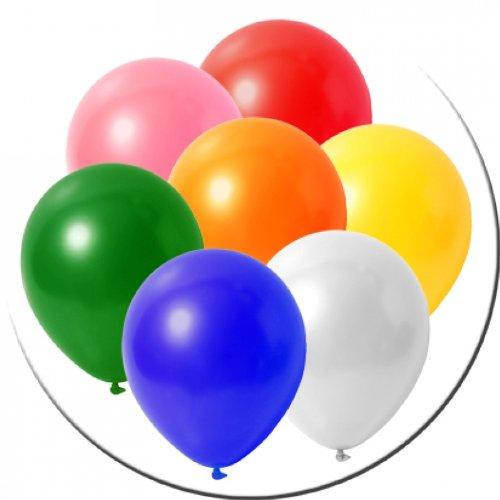 Luftballons Bunte Mischung 30 cm 50er Pack