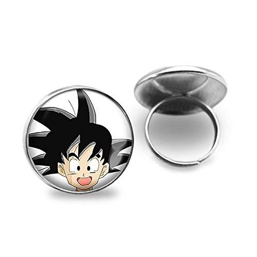 Bosi General Merchandise Dragon Ball, Anillo de Gemas del Tiempo, Accesorios de joyería, Regalos creativos, coleccionables