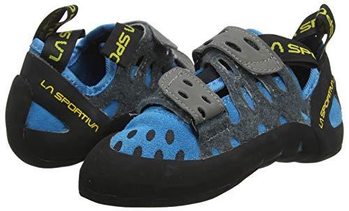 La Sportiva Unisex-Kinder Tarantula Blue Kletterschuhe - 5