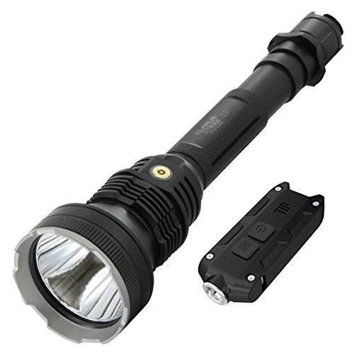 Combo: Klarus XT30R Rechargeable Flashlight-1800 Lumens -CREE XHP35 HI D4 LED -Battery Included w/Nitecore Tip -360 Lumens