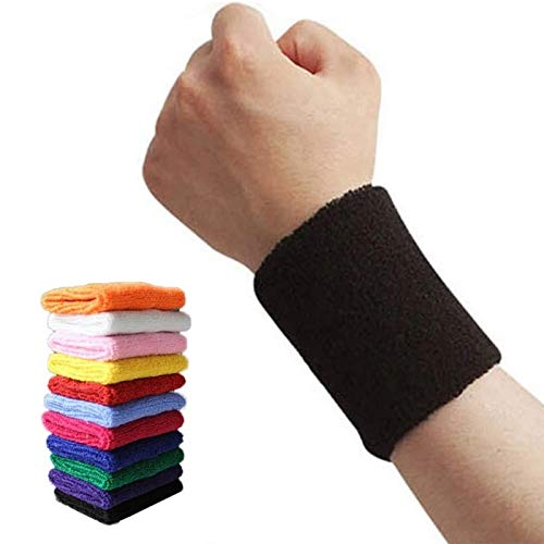 Gather together Purple 1pc Wristbands Sport Sweatband Hand Band Sweat Wrist Support Brace Wraps Guards For Gym Volleyball Basketball Tennis Sports Hot