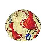 Fez Bigache Pomegranate Hookah y gorra de ducha de ojos turcos para mujeres, 1 unids Sombrero de duc...